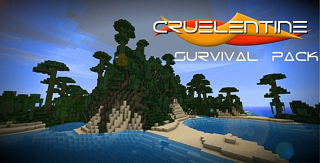 2f548  Cruelentine survival texture pack [1.4.7/1.4.6] [32x] Cruelentine Survival Texture Pack Download