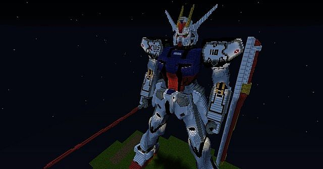 586f7  GAT X105 Aile Strike Gundam Map 5 GAT X105 Aile Strike Gundam Map Download