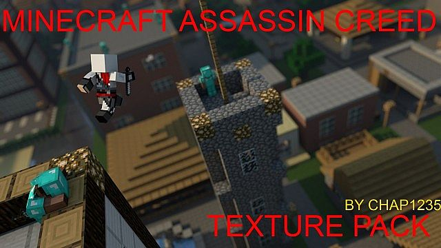 62a0d  Assassin creed texture pack [1.5.2/1.5.1] [32x] Assassin Creed Texture Pack Download