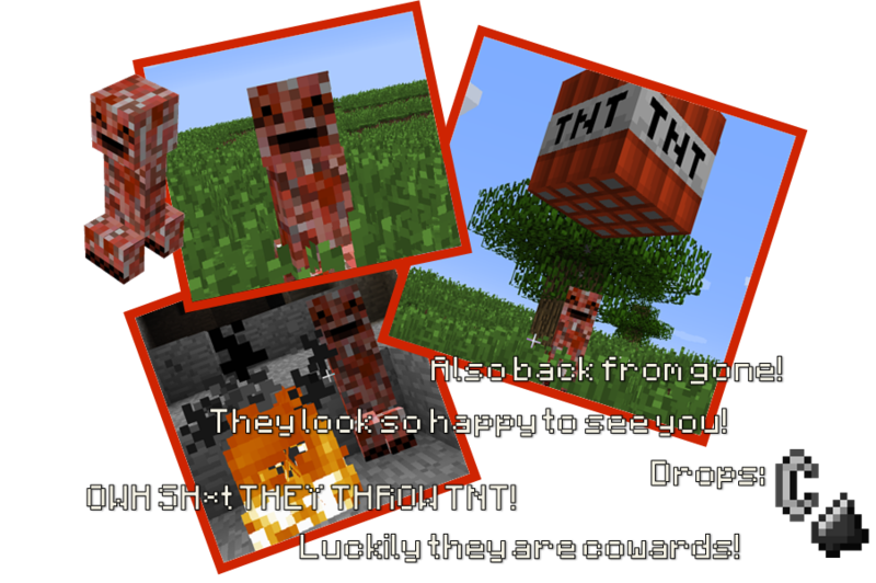 66943  redcreeper Primitive Mobs Screenshots
