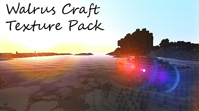 6d323  Walrus craft texture pack [1.4.7/1.4.6] [32x] Walrus Craft Texture Pack Download