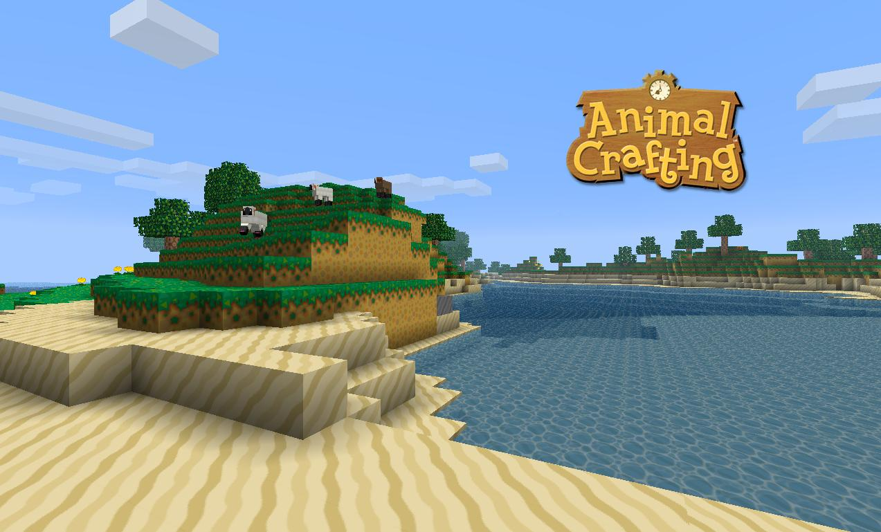 6ffba  Animal crafting texture pack 1 [1.4.7/1.4.6] [64x] Animal Crafting Texture Pack Download