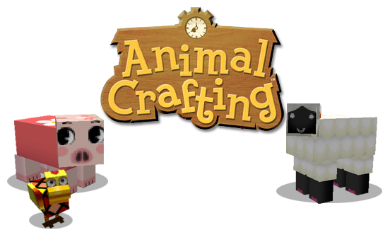 6ffba  Animal crafting texture pack [1.4.7/1.4.6] [64x] Animal Crafting Texture Pack Download