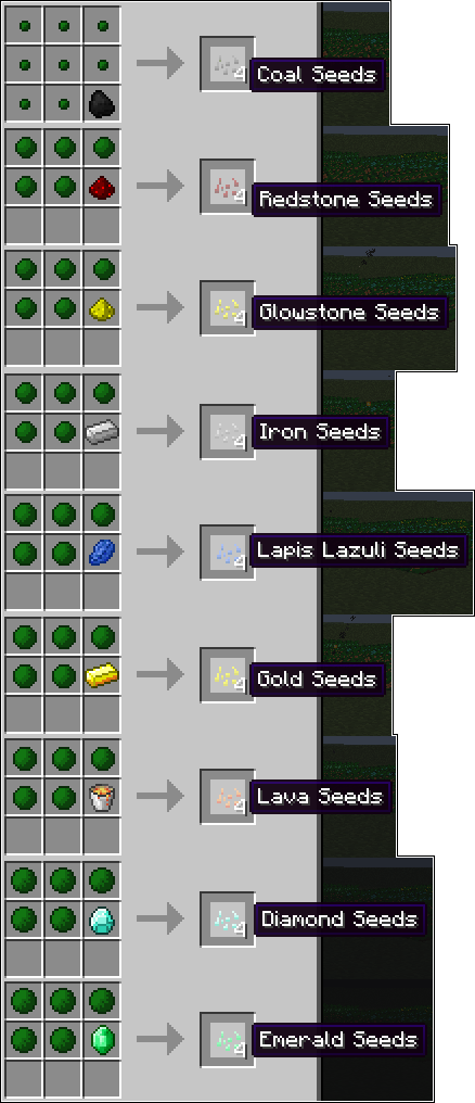 70b13  specialseeds recipes Magical Crops Mod Recipes