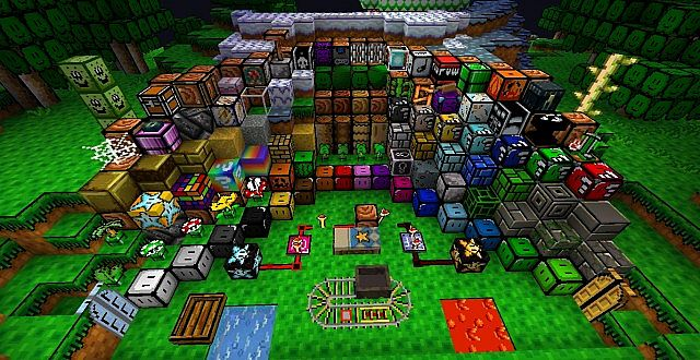 74140  Nates mario texture pack 1 [1.4.7/1.4.6] [16x] Nates Mario Texture Pack Download