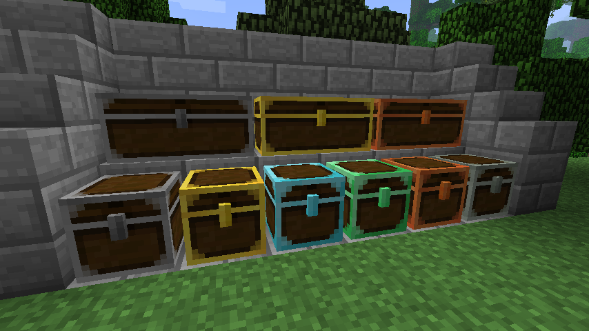 7e11c  reinforced chests Better Storage Screenshots