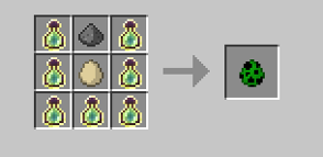84f67  294px Creeper egg Magical Experience Recipes
