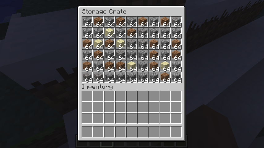Better Storage Mod