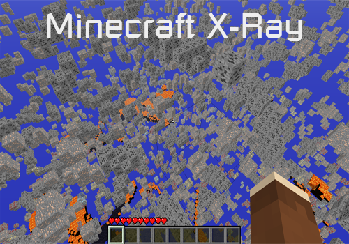 raio x minecraft 1.4.6