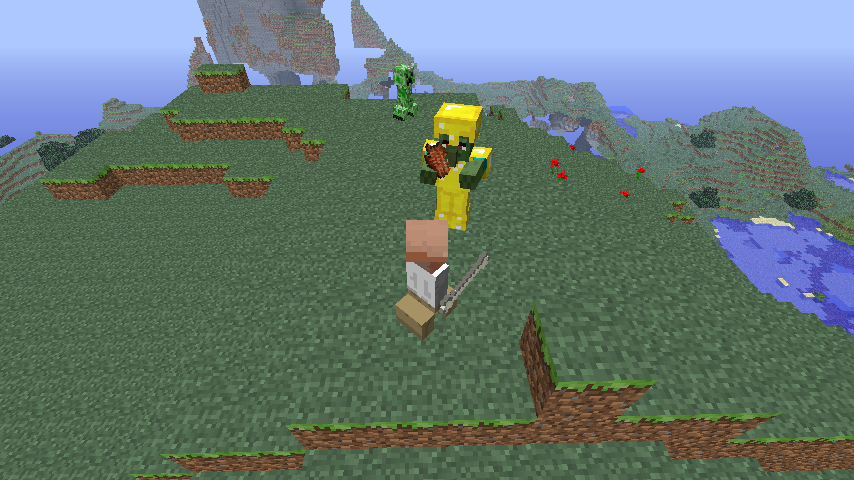 a6171  fYxd5 You Are the Creeper 2 Mod for Minecraft 1.4.7/1.4.6