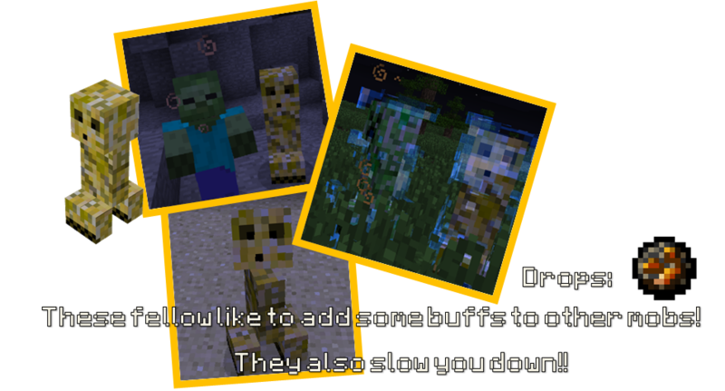 b671a  yellowcreeper Primitive Mobs Screenshots