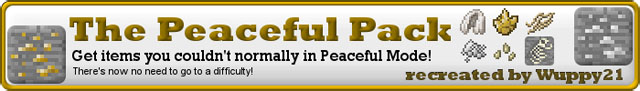 c3f97  The Peacefulpack Mod [1.6.4] The Peacefulpack Mod Download