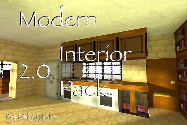 c44ed  Modern interior texture pack [1.4.7/1.4.6] [16x] Modern Interior Texture Pack Download