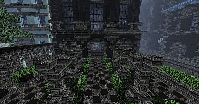caf2a  Darkcraft texture pack [1.4.7/1.4.6] [16x] DarkCraft Texture Pack Download