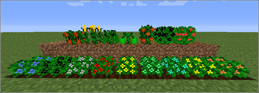de207  plants [1.6.4] Magical Crops Mod Download