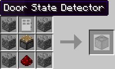 f283c  doorstatedetector YonderCraft Recipes