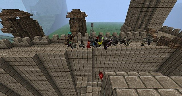 Minecraft minas tirith map presentation and download youtube.