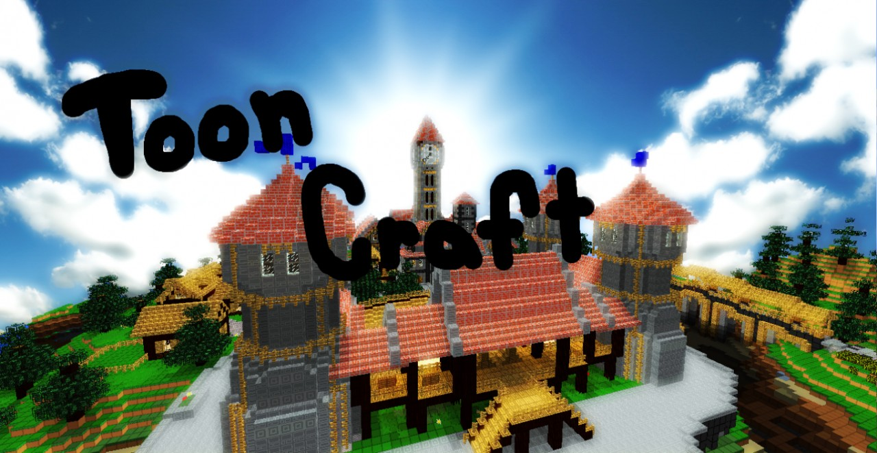 18dca  Tooncraft texture pack 1 [1.5/1.4.7] [16x] ToonCraft Texture Pack Download