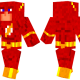 The Flash Skin for Minecraft