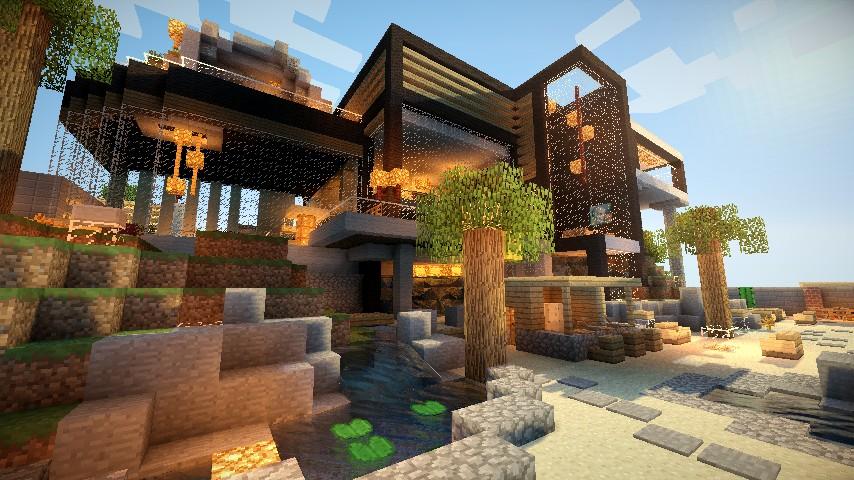 Luxurious Modern House Map Download Minecraft Forum