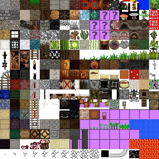30864  Native american texture pack 2 [1.4.7/1.4.6] [32x] Native American Texture Pack Download