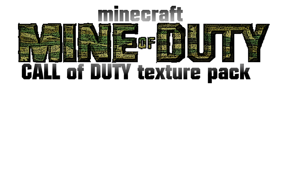 33673  Call of duty texture pack [1.4.7] [32x] Call of Duty Texture Pack Download