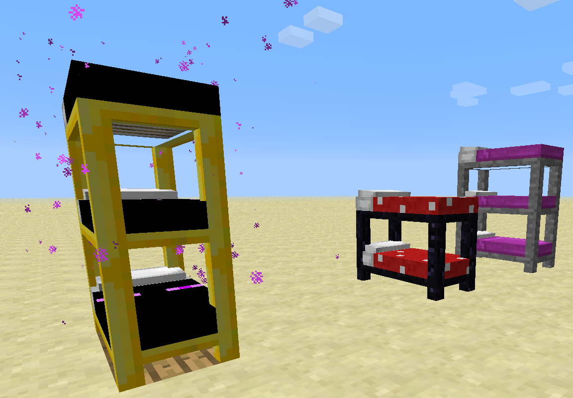 Coloured Beds Screenshots Minecraft Forum