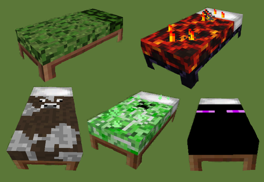 Coloured Beds Mod