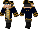 Navy Captain Skin for Minecraft