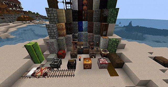 7c7a6  Native american texture pack 3 [1.5.2/1.5.1] [32x] Native American Texture Pack Download