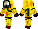 Biohazard Suit Skin for Minecraft