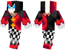 Demon Jester Skin for Minecraft