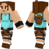 Lara Croft Skin for Minecraft