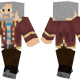 Old Explorer Skin for Minecraft