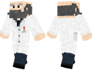Scientist Skin for Minecraft