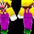 Wario Skin for Minecraft