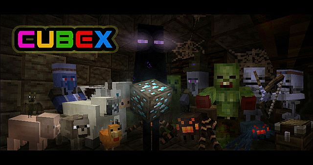 b08aa  Cubex texture pack [1.4.7] [16x] Cubex Texture Pack Download