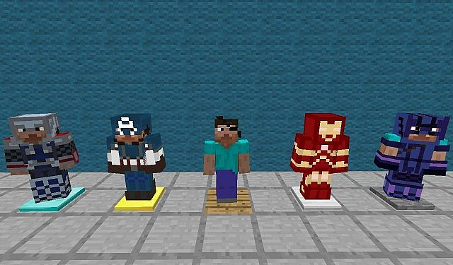 b0c99  The avengers texture pack 1 [1.4.7] [16x] The Avengers Texture Pack Download
