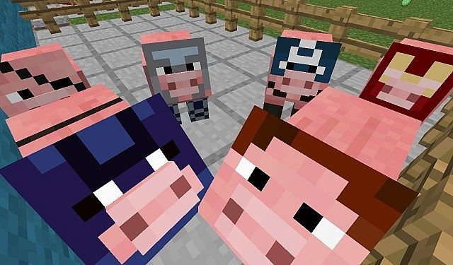 b0c99  The avengers texture pack 2 [1.4.7] [16x] The Avengers Texture Pack Download