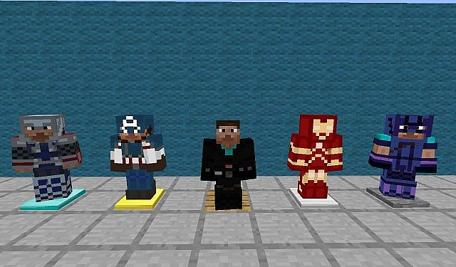 b0c99  The avengers texture pack [1.4.7] [16x] The Avengers Texture Pack Download