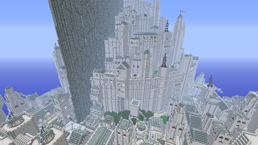 Minas tirith map 1. 12. 2/1. 11. 2 for minecraft 9minecraft. Net.
