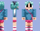 Ramona Flowers Skin for Minecraft
