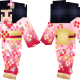 Kokeshi Doll Skin for Minecraft