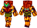 Samus Skin for Minecraft