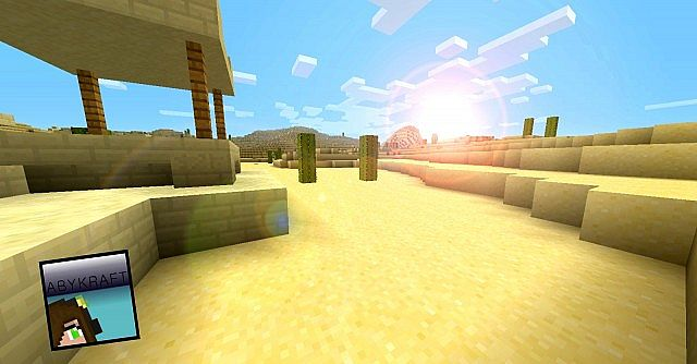 ee838  Abykraft texture pack [1.5/1.4.7] [16x] AbyKraft Texture Pack Download