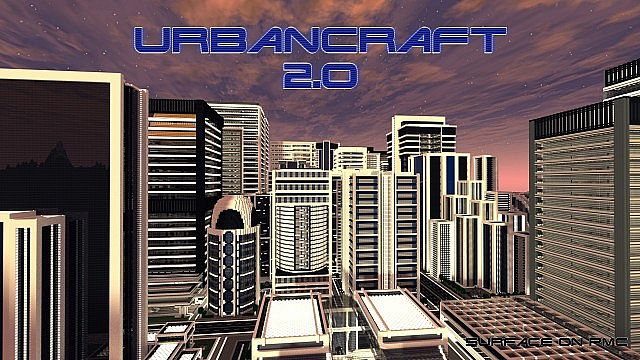 ef214  Urbancraft texture pack [1.5.2/1.5.1] [256x] UrbanCraft Texture Pack Download