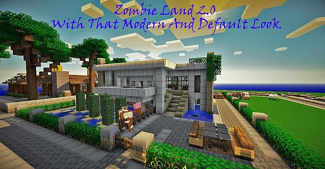 f704d  Zombie land texture pack [1.4.7] [16x] Zombie Land Texture Pack Download