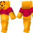Winnie the Pooh Skin for Minecraft