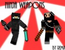 [1.5.1] Ninja Weapons Mod Download