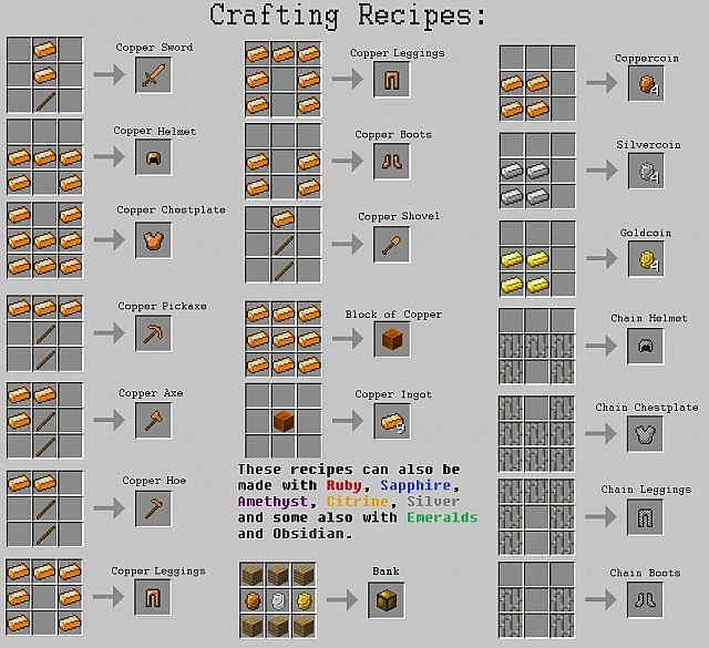 02f59  Ores and Coins Mod 8 Ores and Coins Screenshots